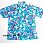 Hawaii Hemd, blau