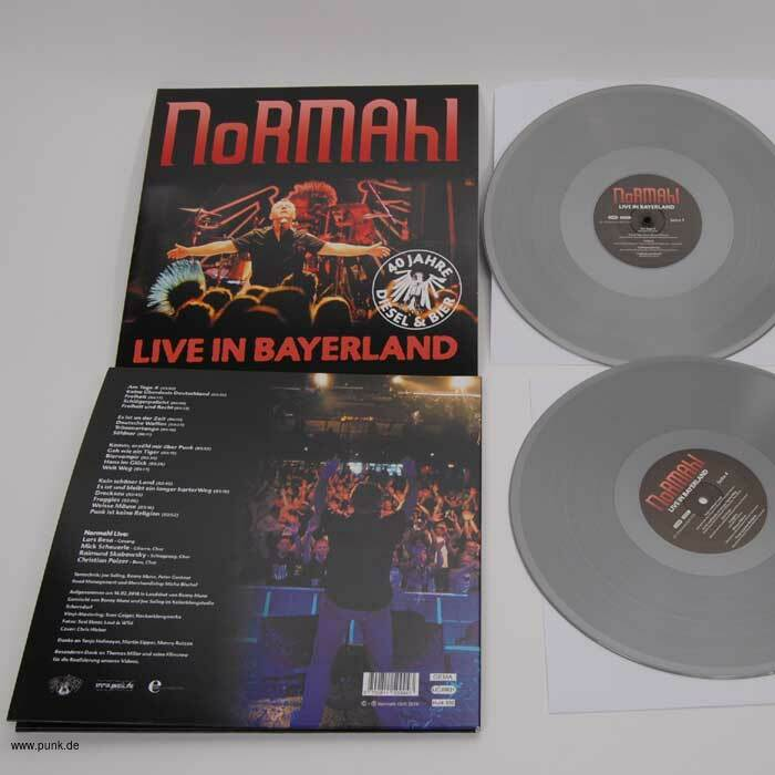 Normahl: Live in Bayerland Doppel-LP