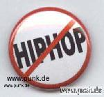 Anti-Hiphop-Button