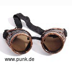 : Goggles, Steam Punk, bronze