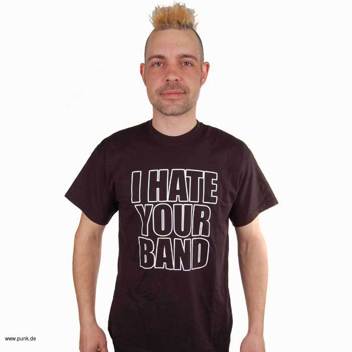 Sexypunk: I hate your band T-Shirt