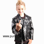 Artificialleatherjacket Johnny for kids