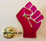 Faust Pin / Anstecknadel (Antifaschistische Aktion / Widerstand)