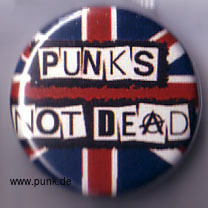 : Punk's not dead Button