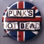Punk's not dead Button