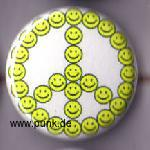: Peace Smilie Button