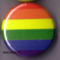 : Regenbogen Button