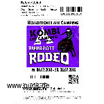 : Kombi-Ticket-inkl. Camping Rodeo 2018