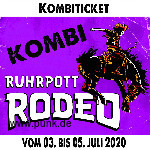 : HardTicket Kombi-Ticket Ruhrpott Rodeo 2020