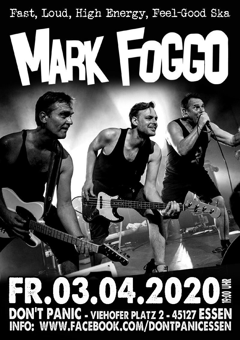 : Mark Foggo (High Energy Ska Mayhem from NL)