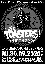 : The Toasters + Banana Peel Slippers